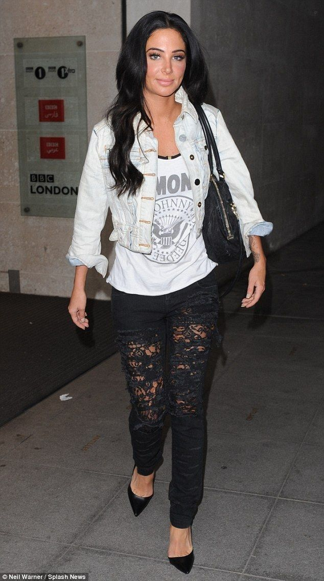 Tulisa Contostavlos dismisses I'm A Celeb rumours - Celebrity Fashion Trends
