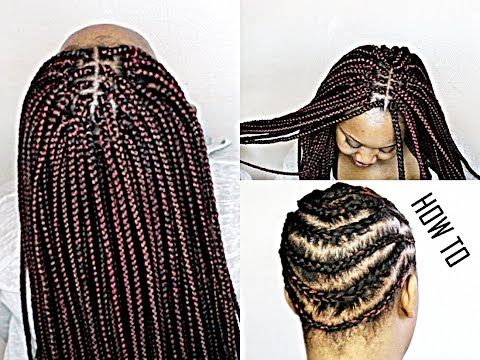28 best bob box braids images on pinterest protective hairstyles protective styles and braid. Black Bedroom Furniture Sets. Home Design Ideas
