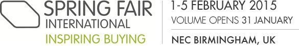 Springfair international inspiring buying - 1-5 February 2015, NEC Birmingham, UK