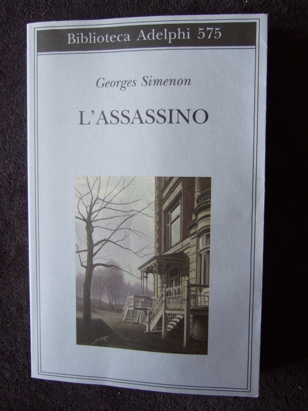L'ASSASSINO, by Georges Simenon
