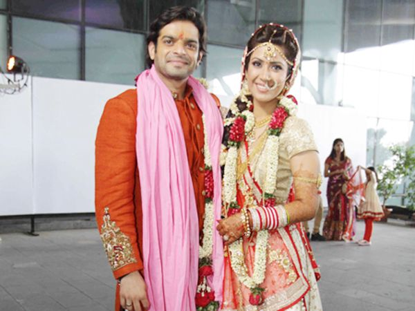 The grand wedding of television stars Karan Patel and Ankita Bhargava took place this weekend, and we must say it was quite a magnificent affair. The who's who of the television industry made their presence felt at the wedding and celebrated with the newlyweds. Check out these exclusive pictures from the wedding. Image courtesy: Twitter / IANS Don't Miss! TV Actresses Who Looked Younger Post the Big Time Leap