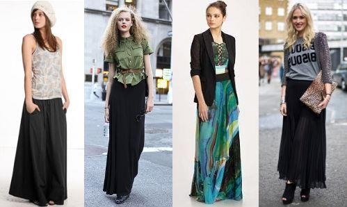 С какой обувью носить длинное летнее платье