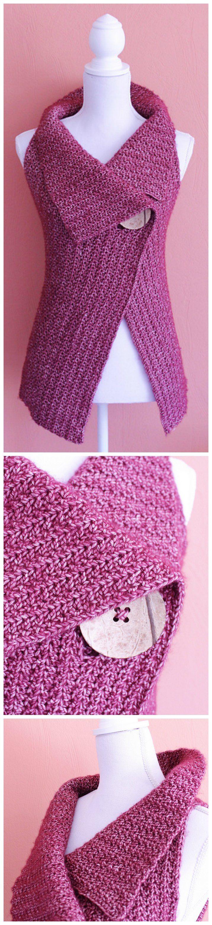 very pretty... need a crochet version