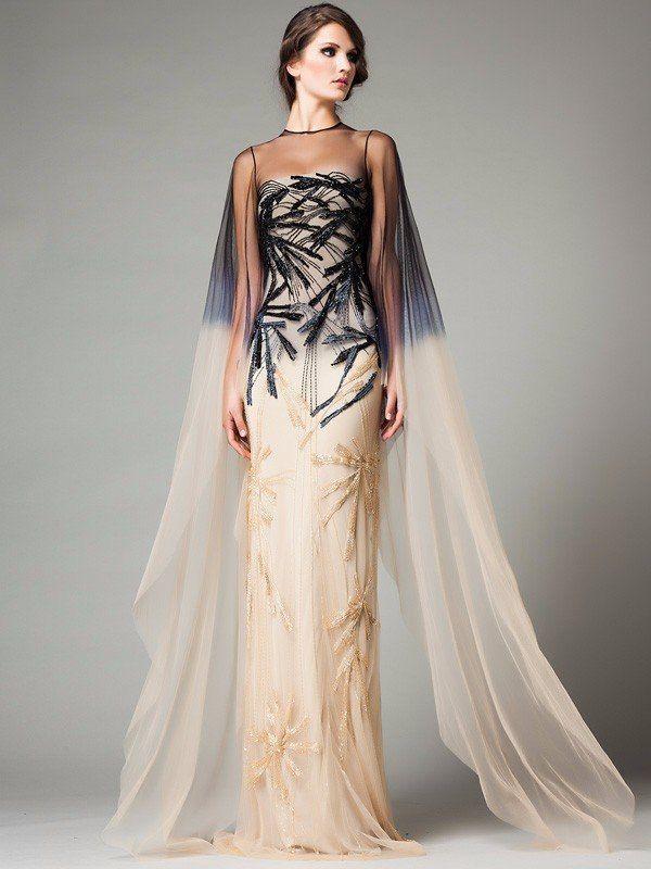 вечерние платья от зайцева фото
