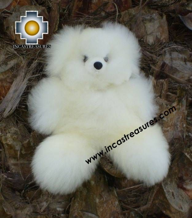 I WANT A BABY ALPACA WOOL STUFFED BEAR. Really quite badly.