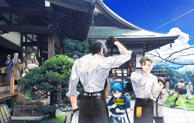 【刀剣乱舞】本丸夏の庭【とある審神者】 : とうらぶ速報~刀剣乱舞まとめブログ~