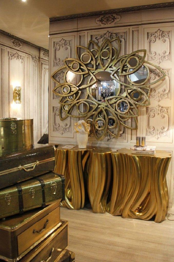 Living Room Decorative Mirror – Boca Do Lobo – Neapoli Mirror Limited Edition