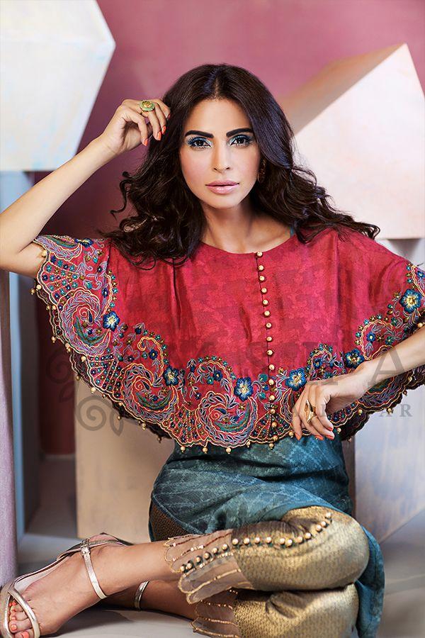 Umsha by Uzma Babar Luxury Pret Fall/Winter Collection 2017   http://www.fashioncluba.com/2017/02/latest-bridal-wear-dresses-collection-umsha-by-uzma-babar.html