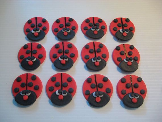 Best Cookiescakes Ive Made Images On Pinterest Cookie Cakes - Bug cupcake decorating ideas