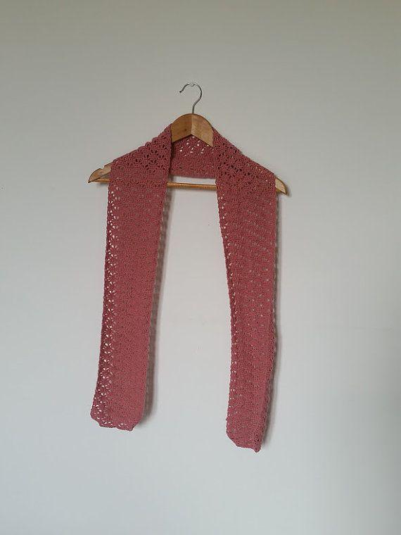Gehaakte Zomer Sjaal  Crocheted Summer Scarf door CosyWoolShop