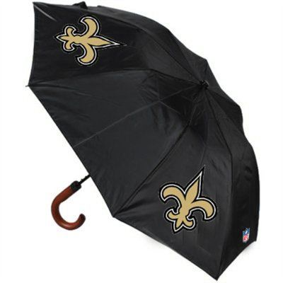 New Orleans Saints Game Day Umbrella - Black