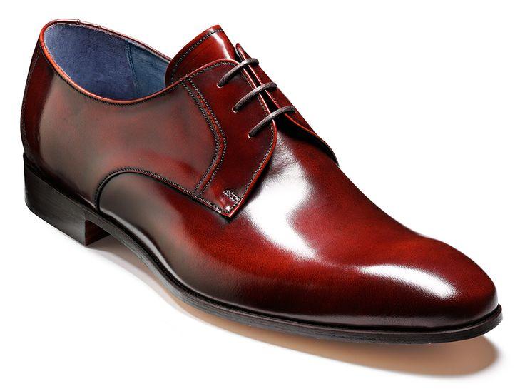 Barker Rutherford - Brandy Cobbler Mens Hi-shine derby shoe http://www.robinsonsshoes.com/barker-rutherford.html