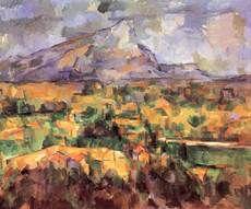 Titre de l'image : Paul Cézanne - La montage Sainte Victoire