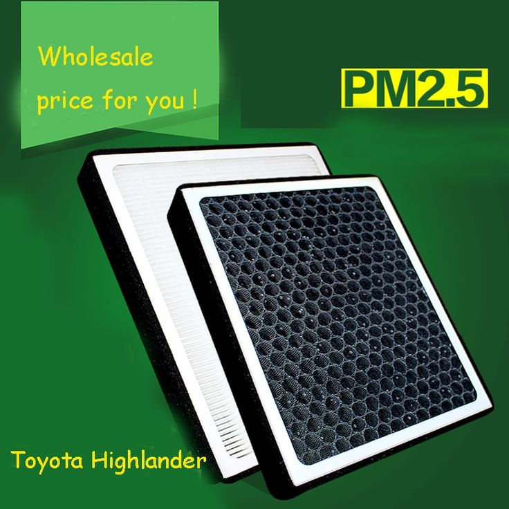 29.30$  Watch more here  - 1pcs High Quality Actived Carbon Heap Car Air Filter For Toyota Highlander Car Air Conditioner Air Purifier Freshener