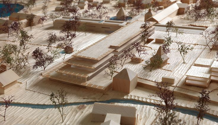 Model Detail, Bad Wiessee Master Plan, 2012 - © Andrea Martiradonna