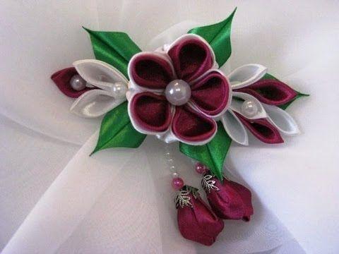 Канзаши- нарядные цветочки!!!