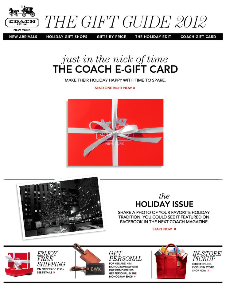 19 best Email Design: Gift Card images on Pinterest ...