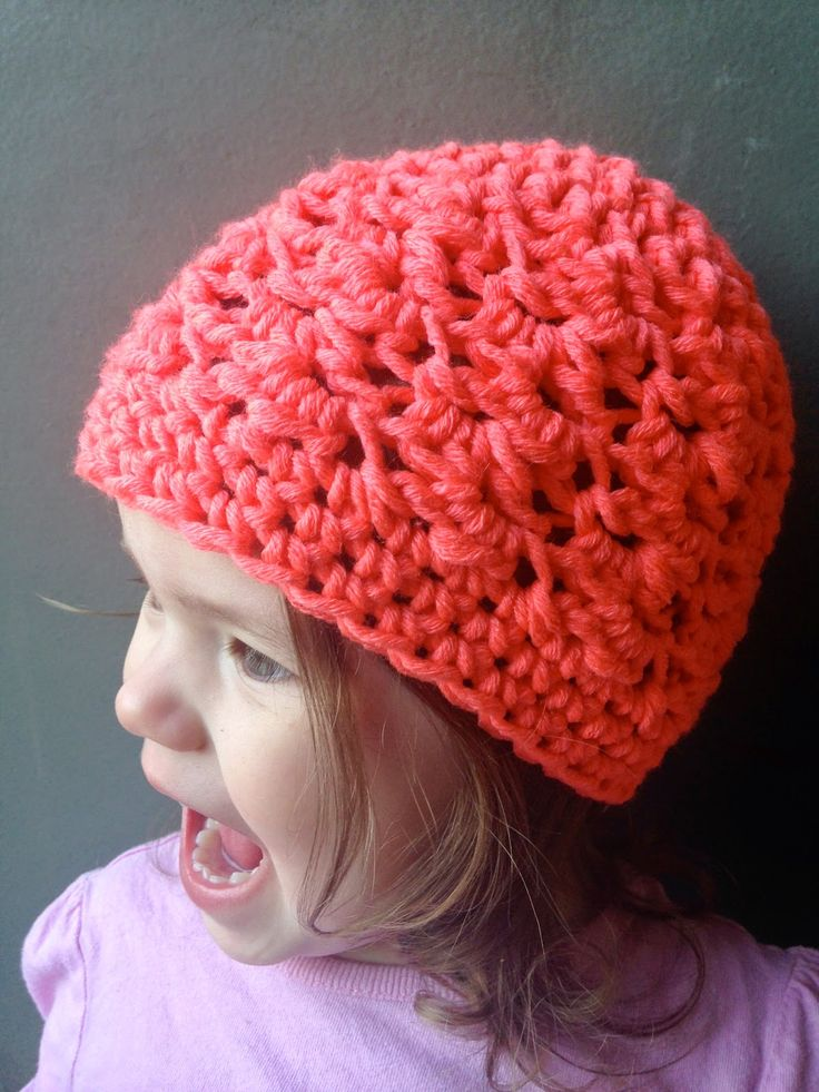 Textured Toddler Beanie: Free Crochet Pattern Available in 2 Sizes Toddler and 6-12 Months