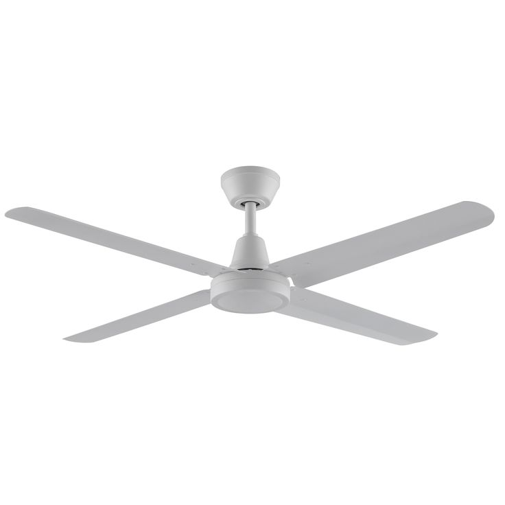 Fanimation Ascension 4 Blade Matte White Ceiling Fan | Overstock.com Shopping - The Best Deals on Ceiling Fans