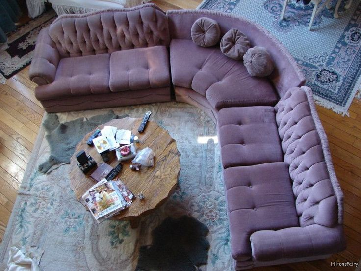 Vintage Velvet Couch