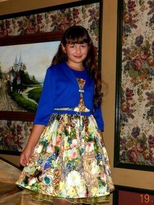 Платье-бюстье для девочки / Фотофорум / Burdastyle