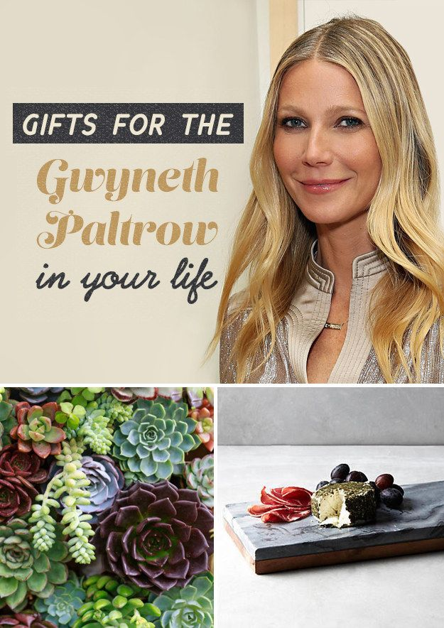21 Gifts For The Gwyneth Paltrow In Your Life