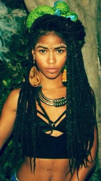 Long Havana Twists with beads | tumblr_n2wo6gTcU61qj913io1_500.jpg