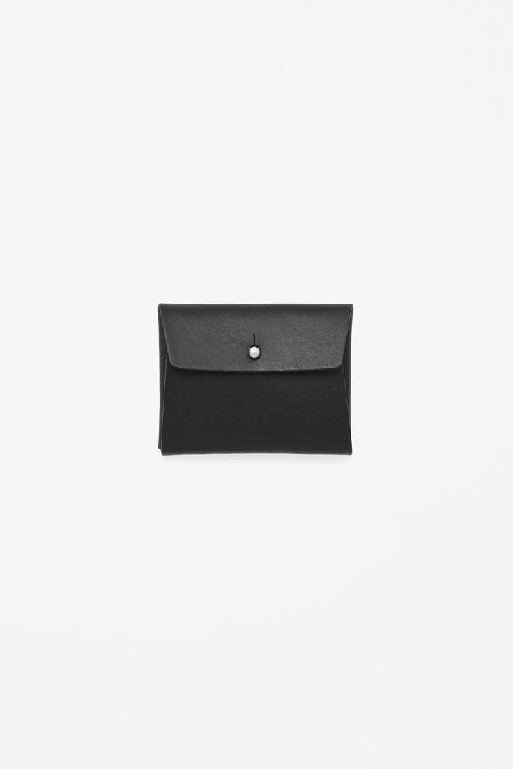 COS | Folded leather cardholder