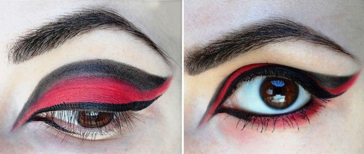 Готический макияж как сделать