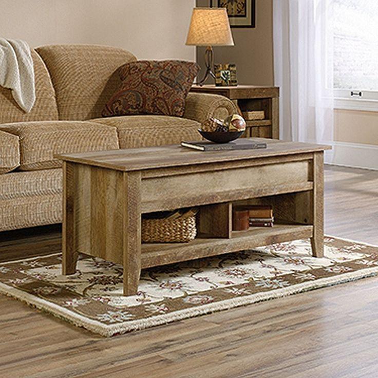 Dakota Pass Lift-Top Coffee Table Craftsman Oak * | 420011 | Sauder Woodworking | AFW