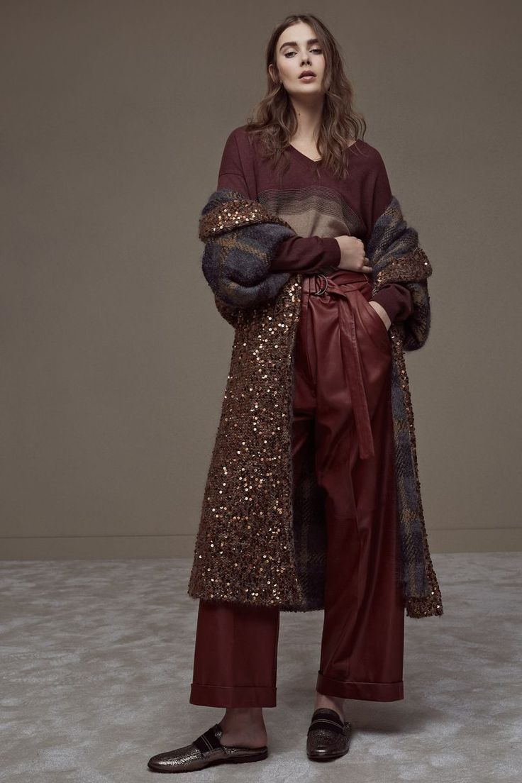Brunello Cucinelli Autumn/Winter 2018 Ready To Wear | British Vogue