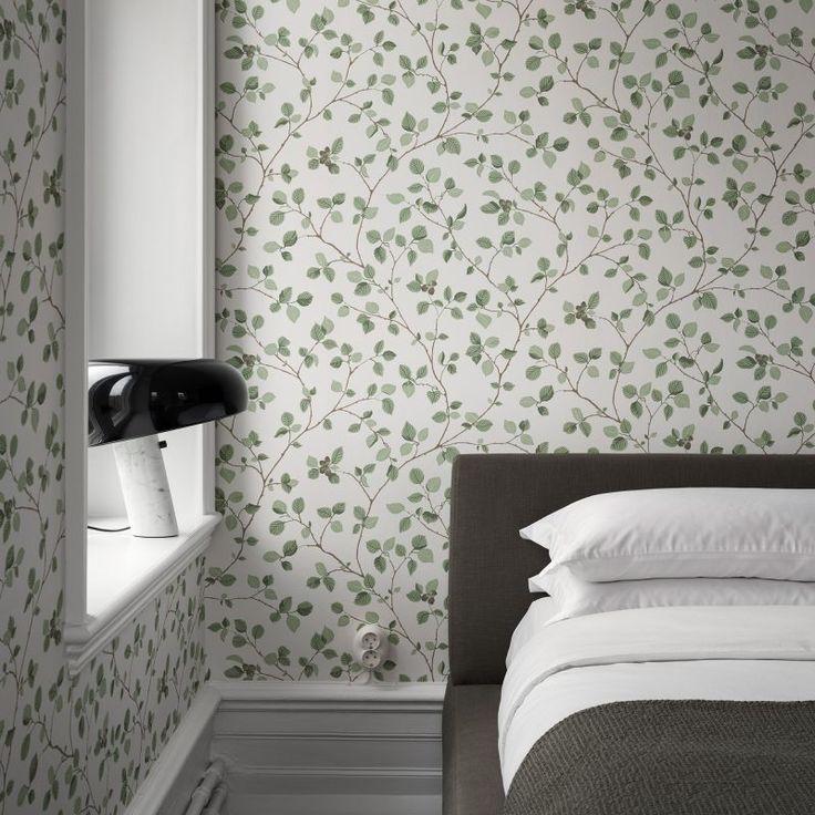 Bedroom wallpaper hassel sandberg wallpaper