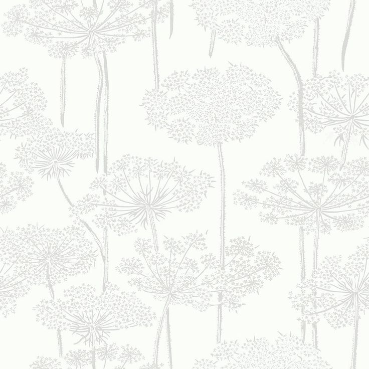 Ingrid Silver wallpaper by Boråstapeter