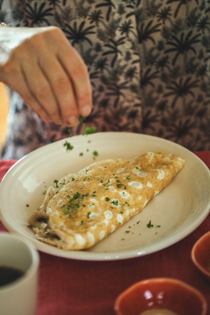 Healthy yummy breakfasts by Aaron Brunet from Masterchef – Feta egg-white omelette – NZF June/July 2014
