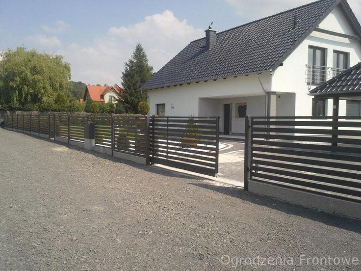 ogrodzenia frontowe, panelowe, siatkowe , furtki, bramy przesuwne, dwuskrzydłwe, akcesoria ,słupki Lubin - Oferta nr 81611 - Oferteo.pl