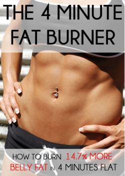 Its 4 Minute Fat Burner Exercise That will Change Your Life