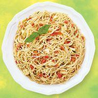 Capellini Asiago Salad | Kitchen View