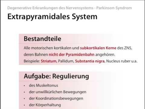 Parkinson-Syndrom, Parkinson Krankheit