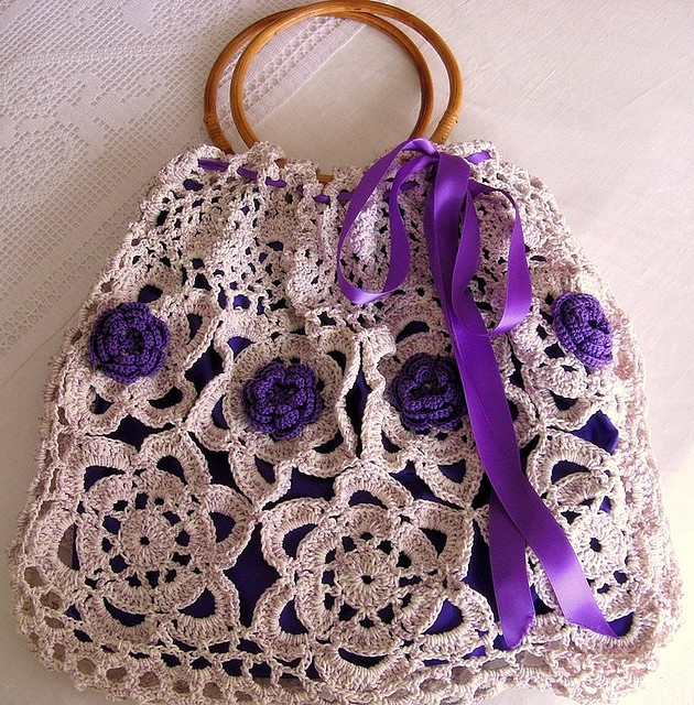 crochet bag by Oh!...So Cute on flickr