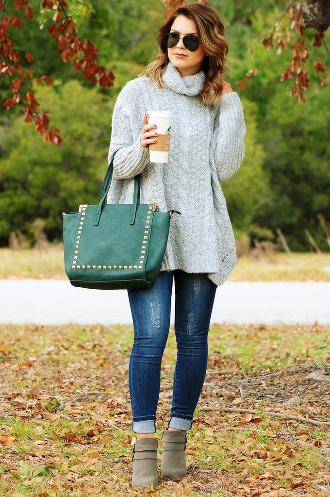 Let Me Go Sweater: Heather Gray