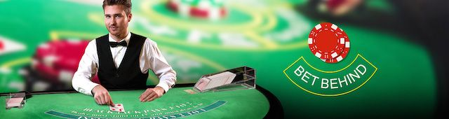 Lisäsimme kaikkiin Live Casino Granden Black Jack -pöytiimme uuden ominaisuuden: Bet Behind! Nyt saapuessasi täyteen pöytään sinun ei tarvitse odotella vuoroasi, vaan voit betsata pöydässä jo istuvia pelaajia!
