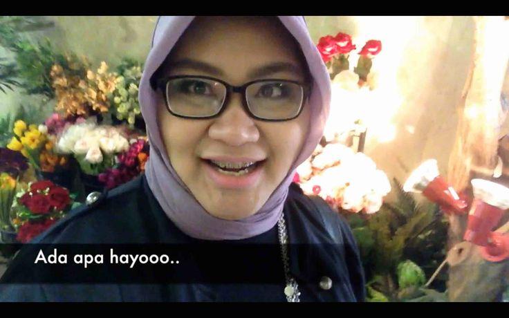 Vlog #7 Jalan - Jalan ke Indonesia Islamic Fesyen Produk  ( IIFP2016 )