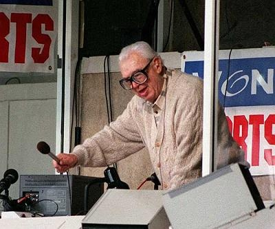 The Seventh Inning Stretch at Wrigley Field (with Harray Caray)