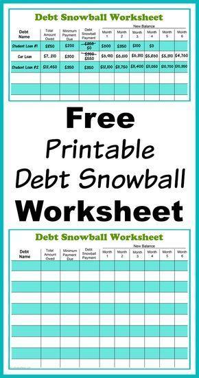 77 best Free Printables images on Pinterest Budget binder, Finance