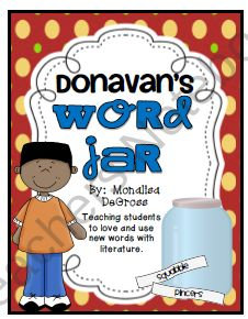 Donavans word jar study guide