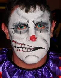 scary halloween face painting face painting tips halloween face painting ideas for 2011 - Scary Face Paint Ideas For Halloween
