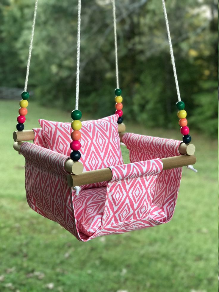 Baby swing, cloth swing, nursery swing, patio swing, indoor/ outdoor swinng, backyard swing, childrens birthday, baby shower gift, christmas