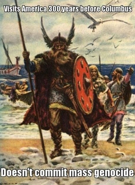 Why the Norse are a million times better