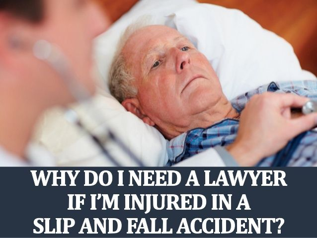 Díez y Romeo propone el siguiente artículo: Why Do I Need A Lawyer If I'm Injured In A Slip and Fall Accident by Michael Waks via slideshare