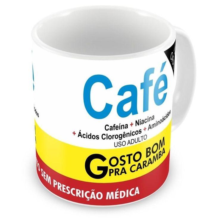 Caneca Personalizada Café - ArtePress - Brindes em Almofadas, Canecas, Copos, Squeeze